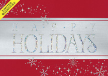 Sparkling Sentiment Holiday Cards