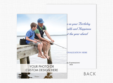 Custom Greeting Card (Vertical, Value Size, Flat)
